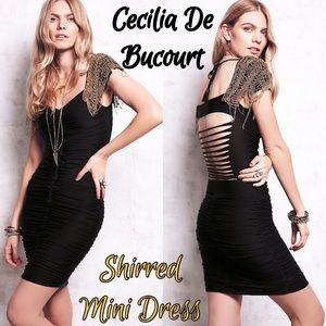 CECILIA DE BUCOURT (FP) - SHIRRED MINI DRESS