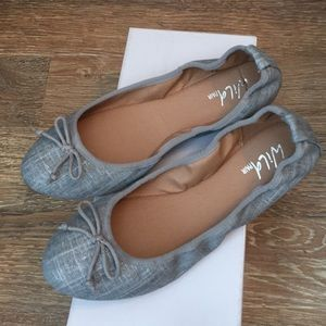 Wild Pair Shoes - New Wild Pair silver flats.