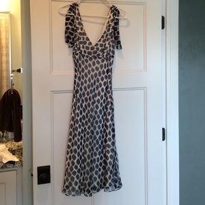 BCBGMaxArzria lightweight 100% silk dress.