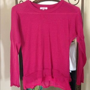 Alcott Tops - Pink, long sleeve shirt