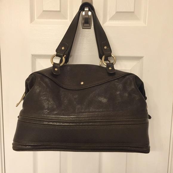 077f84721c9 Emporio Armani Handbags - EMPORIO ARMANI Leather Satchel Handbag