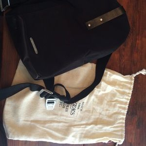 Brooks Handbags - Brooks leather and canvas backpack