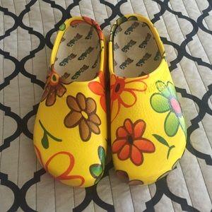 5f028a25ec43a5 Birkenstock Shoes - Birkenstock professional super birki yellow clog