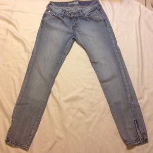 Express light blue pants