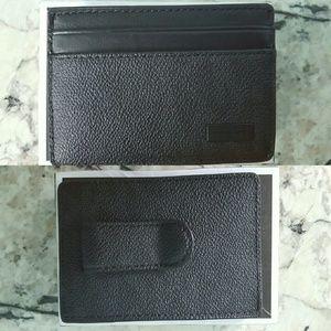 a3d42931ae08 Michael Kors Accessories - Michael Kors MEN Logo Money-Clip Card Case
