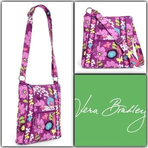 Vera Bradley Hipster Crossbody bag Flutterby NWT