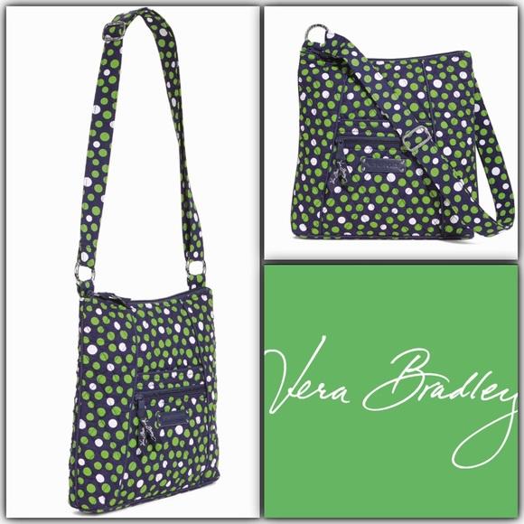 190494bbc57e Vera Bradley Hipster Crossbody Bag Lucky Dots NWT