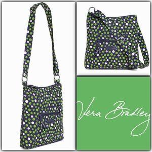 Vera Bradley Hipster Crossbody Bag Lucky Dots NWT