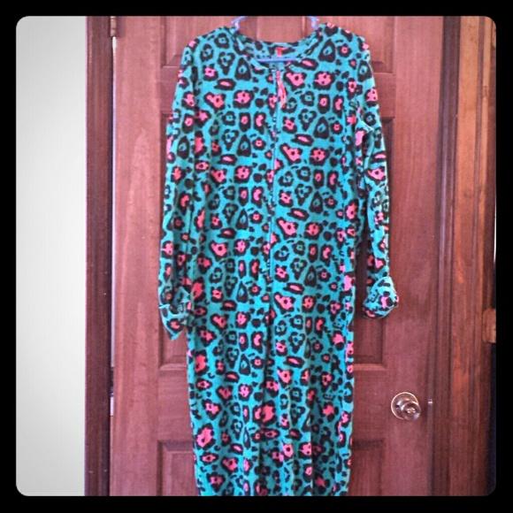 Rue21 Intimates Amp Sleepwear Rue 21 Leopard Print Onesie