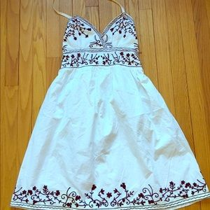 Passport Dresses & Skirts - Passport White Summer Dress! Absolutely adorable!