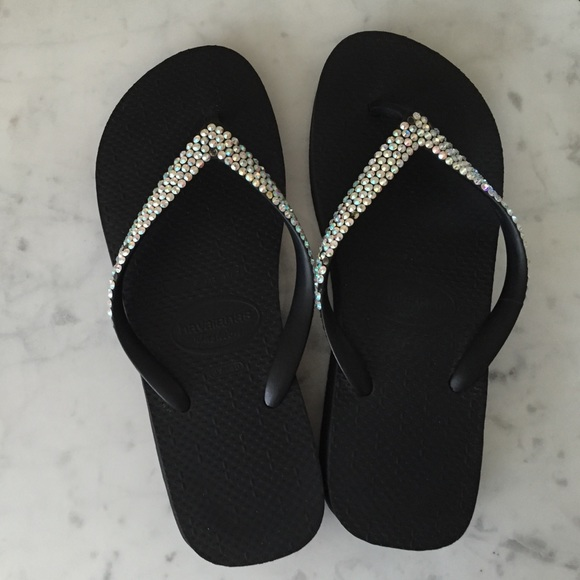 b47dfd146eca Havaianas Shoes - Havaianas Flip Flop with real Swarovski Crystals