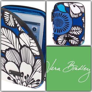 Vera Bradley Tablet Sleeve Blue Bayou NWT