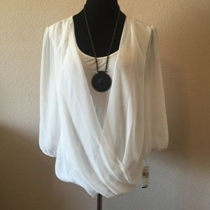 White Shirt -Sz XL (necklace included)