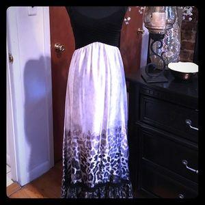  Bebe Maxi Summer Dress 