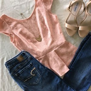 Forever 21 Tops - Forever 21 sequin peplum top