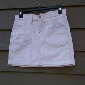 Gap corduroy mini skirt