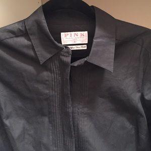 Thomas Pink Tops - English designer Thomas Pink tuxedo blouse