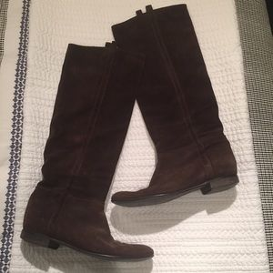 Madewell Tall Suede Boots