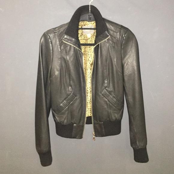 Kenna t leather jacket