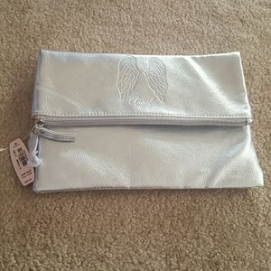 Victoria's Secret Angel Silver Clutch