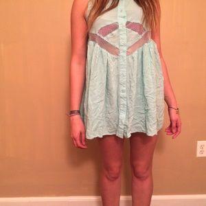 Blue Nameless PacSun Dress