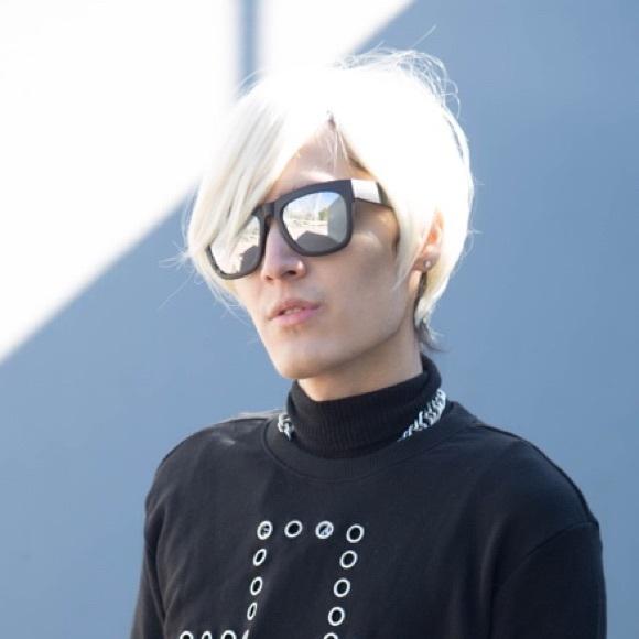 ⭐️Short Platinum Blonde Wig Cosplay Unisex Yellow