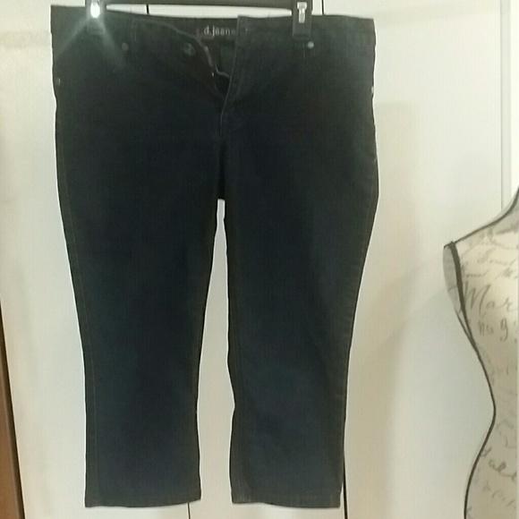 d.Jeans - Dark blue capris from Melissa's closet on Poshmark