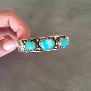 Free People Turquoise Cuff