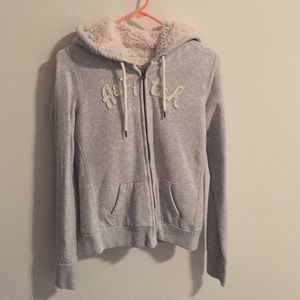 Abercrombie & Fitch Jackets & Blazers - Abercrombie and Fitch fleece hoodie