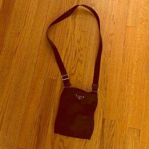 Black Prada crossbody bag on Poshmark