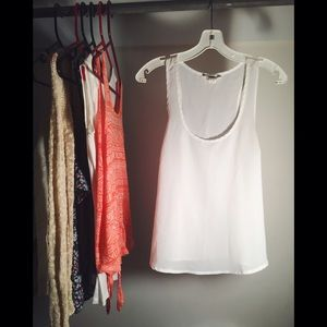 Forever 21 Tops - Forever 21 Simple White Tank Top