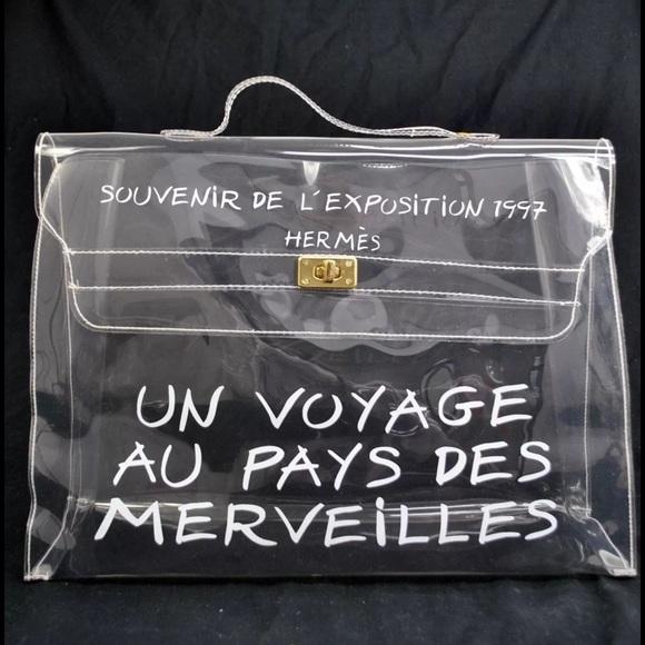 économiser 9e3eb 4de8e HERMÈS VINYL KELLY BAG NWT