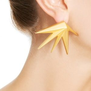 Eddie Borgo Gold Plated Cyprus Earrings