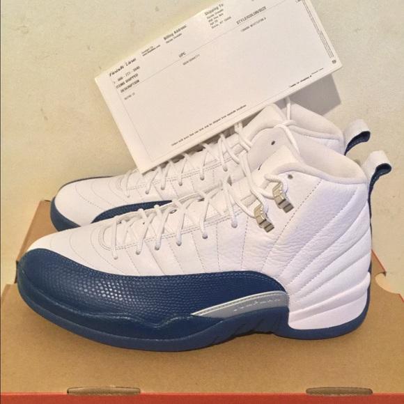 45cba1927b86dd Air Jordan 12 French Blue size 9 men s