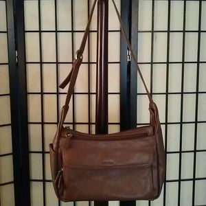 aurielle Handbags - Aurielle Brown leather bag