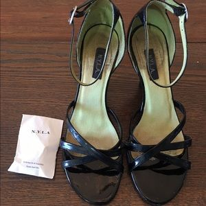 N.Y.L.A. Shoes - N.Y.L.A. Patent Leather Heels