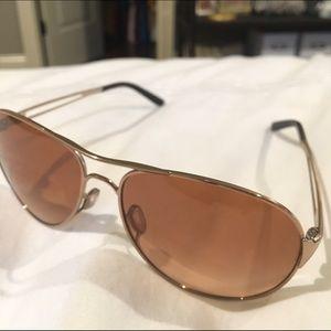 1fad8ffea7f Oakley Accessories - Oakley Rose Gold Caveat™ aviator style sunglasses