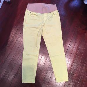 GAP Denim - Gap Maternity Yellow Jeans
