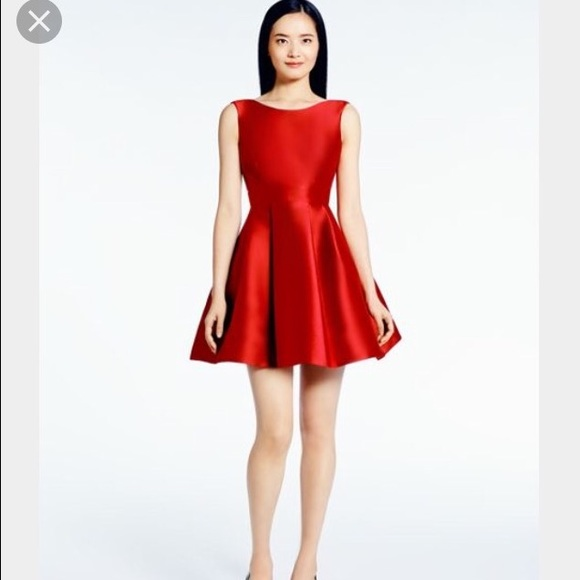 50% off kate spade Dresses & Skirts - Kate Spade Red Bow Dress ...