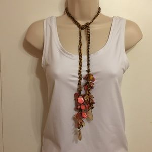 Custom made one strand necklace