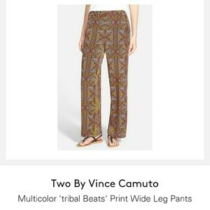 Two by Vince Camuto 'Tribal Beats' Wide Leg Pants