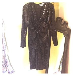 Vintage sequin party dress