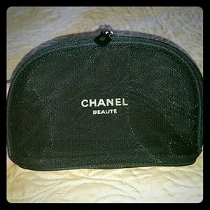 CHANEL Handbags - Small Double Mesh Chanel Makeup bag