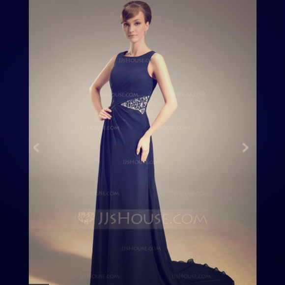 76 Off Dresses Skirts Jj 39 S House Navy Mother Of The