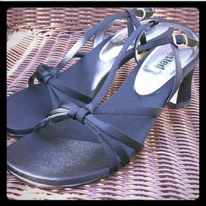 Unlisted Strappy Black Dressy Sandals