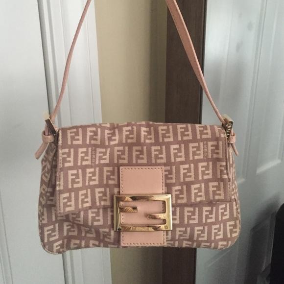5aa9227039d2 FENDI Handbags - Fendi Zucca Monogram Pochette
