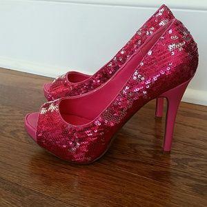 ellie Shoes - Pink heels