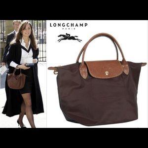 a8371493ae67 Longchamp Bags - Longchamp Le Pliage Small Handbag Brown