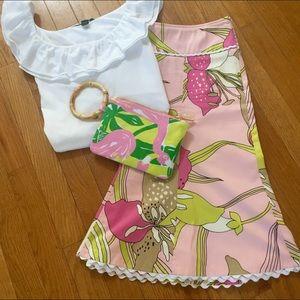 Karen Kane Dresses & Skirts - Karen Kane A-line floral skirt