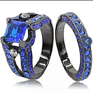 FV Jewelry - Brand 🆕 2pc Stunning Wedding /Engagement Ring Set